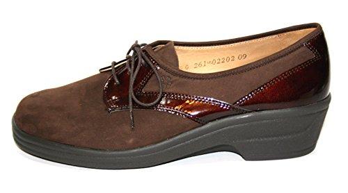 Ganter Renate Comfort 77 898 Damen Schuhe Halbschuhe Weite G Braun (Espresso)