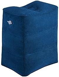 Fußstütze Kissen für Flugreisen, WeTong Tragbare Aufblasbare Reisekissen Bein Kissen für Kinder Schlafen auf dem Auto / Flug