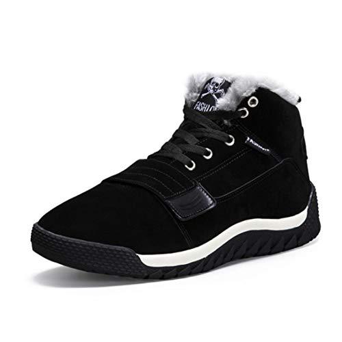 Baskets FantaisieZ Chaussures de Sport Casual pour Hommes de Low Cheville Bottines d'automne Chaudes Automne Cheville Plat Sneakers de Trois Couleurs pour Etudiants