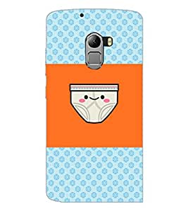 PrintDhaba Funny image D-4890 Back Case Cover for LENOVO K4 NOTE A7010a48 (Multi-Coloured)