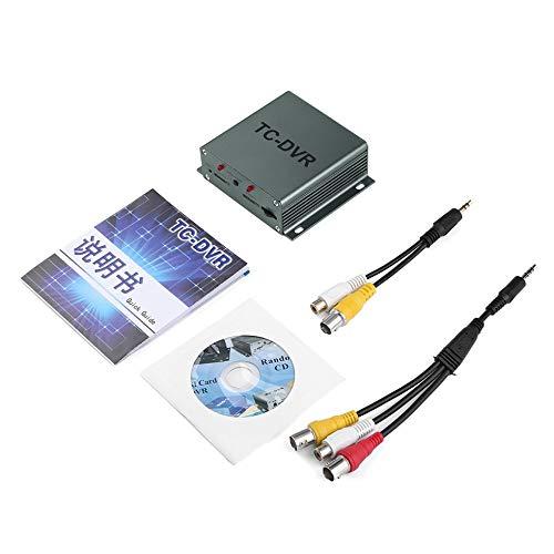 Video Out Vga Karte (Sen-Sen T-DVR Video Audio Recorder Unterstützung Dual TF Karte HDMI Video Out Motion Detection schwarz)