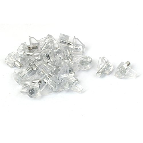 5 mm dia supporto peg stud pin per cucina armadio armadio 30 pz