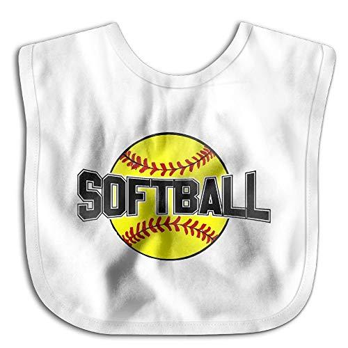 Softball Baseball Funny Baby Bibs Burp Infant Drool Toddler Bibs Baby Infant Toddler Bib