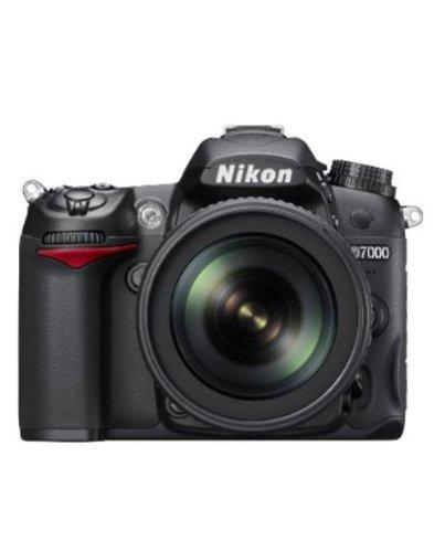 Nikon D7000 16.2MP Digital SLR Camera (Black) + AF-S 18-105mm...