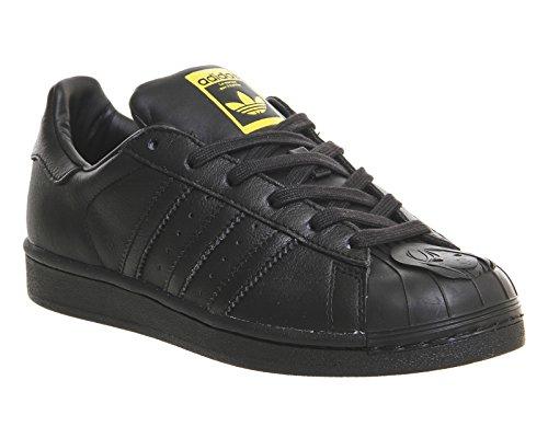adidas Herren Superstar Pharrell S Sneaker Black/Yellow