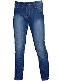 Mädchen Jeanshose 5-Pocket Demin Blue Jeans blau