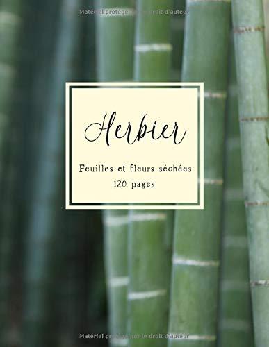 Wildflower Creme (Herbier: Un Cahier pour feuilles et fleurs pressées et séchées)