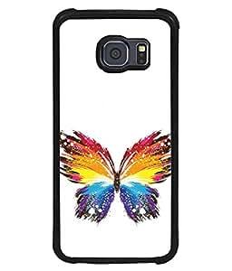 PrintVisa Designer Back Case Cover for Samsung Galaxy S6 Edge :: Samsung Galaxy S6 Edge G925 :: Samsung Galaxy S6 Edge G925I G9250 G925A G925F G925Fq G925K G925L G925S G925T (Painted animated design flowers nature)