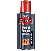 Alpecin Champú Cafeína C1, 1 x 250 ml – champú anticaída