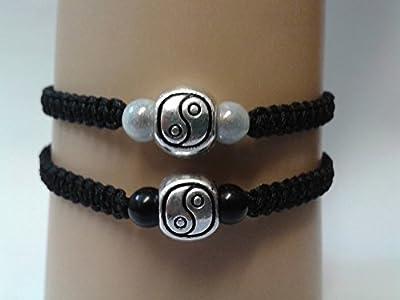 Ensemble de couples yin yang bracelet