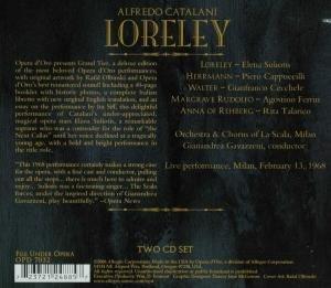 Catalani : Loreley. Suiliotis, Cappucilli, Gavazzeni.