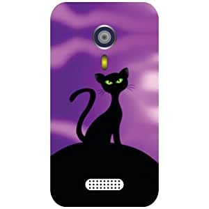 Micromax A116 Canvas HD Cat Eye Matte Finish Phone Cover