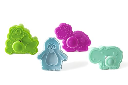 Unbekannt ACC101 Mini Cookie Cutter Funny Animals - Baby Cutter 47X45 H 18 mm