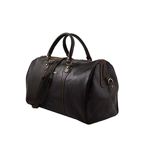 Tuscany Leather - Oslo - Sac de voyage en cuir Rouge - TL1044/4 Miel