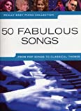 partitions vari?t? pop rock wise publications really easy piano 50 fabulous songs piano