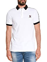 Fred Perry Homme M9570183 Blanc Coton Polo