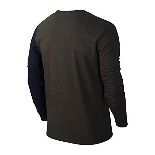 Nike Stretched Wings L/S Tee T-shirt für Herren Verde