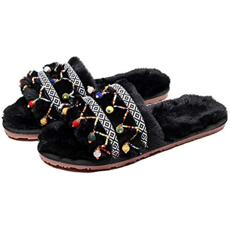 MIAOMIAOWANG Pantoufles en Coton Respirant pour la la la Maison, pour Femmes, Confortables et Confortables, - B07JW6QXZS - bd6b53