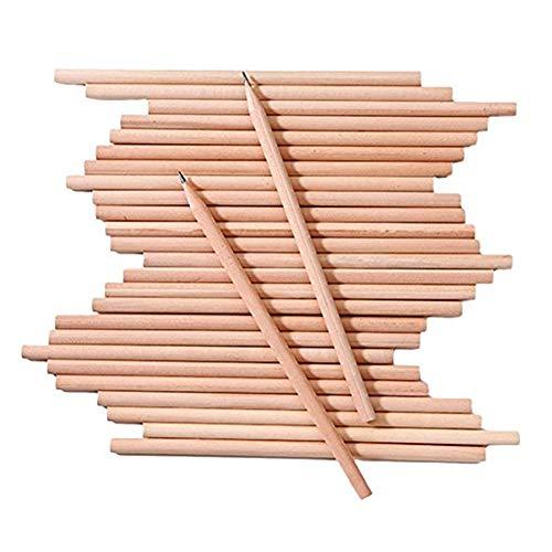 100pcs HB Bleistifte aus Holz Dreieckige Bleistifte Art Sketching Bleistifte Set für Büro-Schule-Briefpapier Zeichnung schriftlich