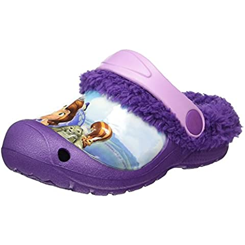 Sofia die Erste Girls Kids Clog Sandals And Mules - Zuecos Niñas