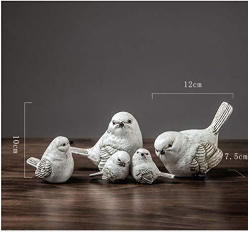 WDDqzf Skulptur Figur Dekoration Statuen Nordeuropäischer Und Amerikanischer Artlandvogel Verziert Hauptdesktop-Kleine Tierdekorationsschaufensteranzeige