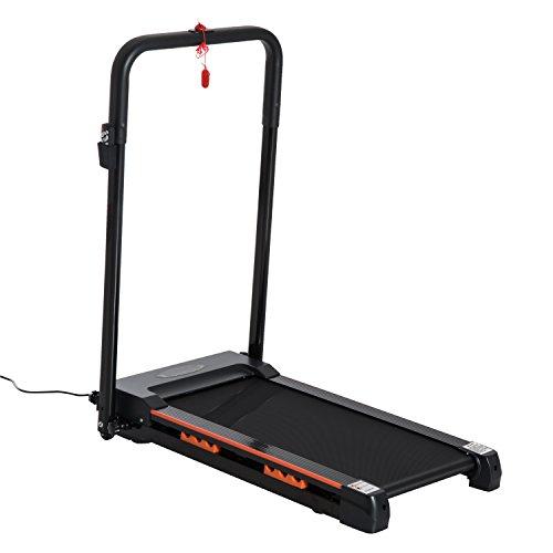 Homcom Tapis Roulant électrique de Marche 370 W Pliable télécommande écran LCD Vitesse 1-6 Km/h Acier Noir Neuf 31