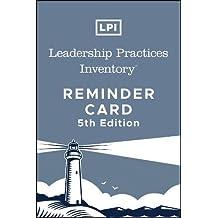 Lpi: Leadership Practices Inventory Reminder Card (J–B Leadership Challenge: Kouzes/Posner)