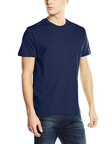 Stedman Apparel Herren Regular Fit T-Shirt blau (marineblau)