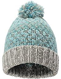 Mountain Warehouse Gorro de Invierno para Mujer Tejido de Punto Suave y  cálido y Forro Polar faac508115e