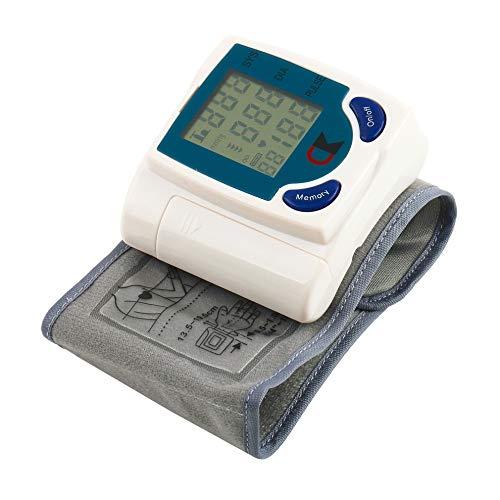 Zywtrade Blutdruck Monitor Wrist-Type Home Electronic Automatic Sphygmomanometer mit digitalem LCD-Display und 60 Sets der Speicherfunktion