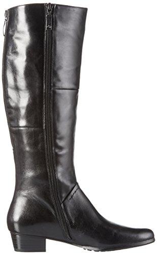 GERRY WEBER G82006 MI24, Stivali alti non imbottiti Donna Nero (Nero 100)