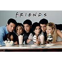 Póster Friends - Milkshake - cartel económico, póster XXL