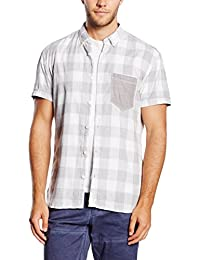 TOM TAILOR Denim Herren Freizeithemd Summer Pixel Shirt