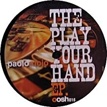 PAOLO MOJO / PLAY YOUR HAND EP