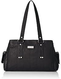 Fantosy Women's Handbag (FNB-126, Black )