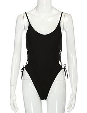 Costumi da Bagno Clode® Costume da Bagno Delle Donne Spinge Verso l'alto il Costume da Bagno Bikini Imbottito...