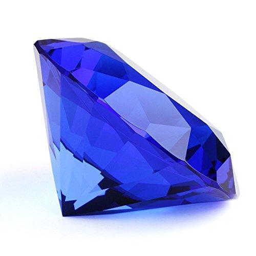 very100-crystal-diamond-shape-paperweight-facet-glass-gem-ornament-wedding-decor-60mm-236blue