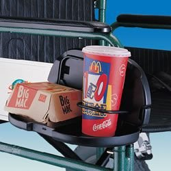 Double Cup Holder and Tray