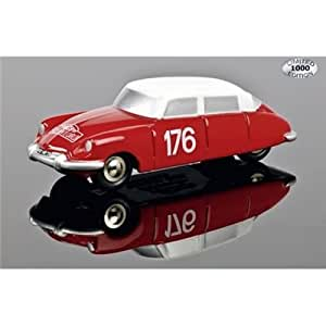Schuco - SCHU05004 - Véhicule Miniature - Citroën DS 19 N°176 Rallye Monte Carlo - Série Piccolo