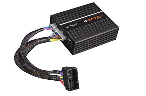 match Up 7bmw - BMW Hi-Fi Sound System Upgrade, 7 DSP channels Plug & Play Amplifier