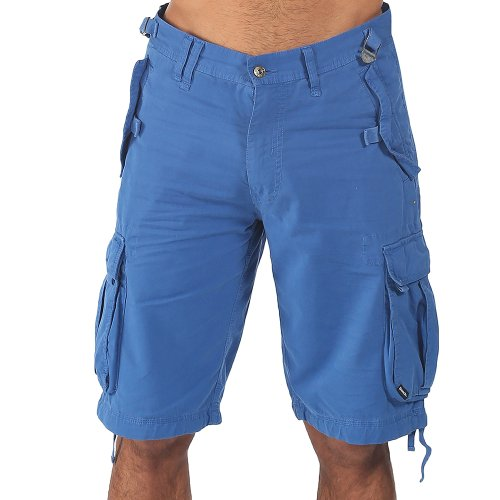 Bench, Pantaloni corti Uomo Larklane H, Blu (True Blue), X-Small (Tallia Produttore: W29)