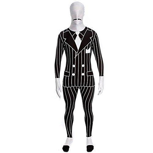 Gangster Kostüm Morphsuit (Gangster Morphsuit)