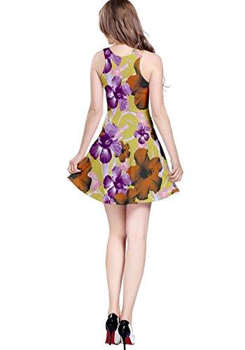 CowCow - Robe - Femme Violet Violet - Purple Orange