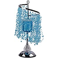 BESTOYARD Luces románticas de Navidad Dormitorio lámpara de Aceite Esencial Fragancia lámpara de aromaterapia Ligera (Azul)