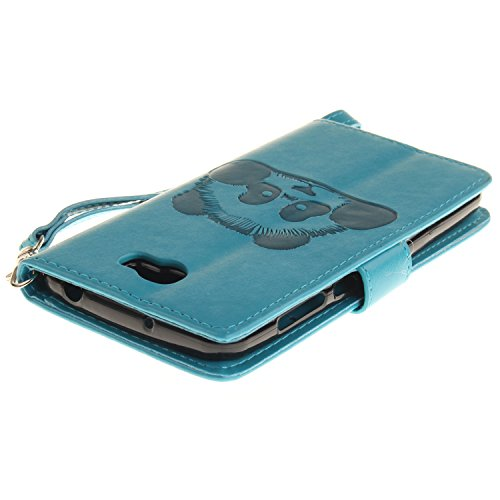 Etui IPHONE 6 /IPHONE 6S, Frlife| Housse Portefeuille Coque Protection pour IPHONE 6 /IPHONE 6S, en PU Cuir, avec Stand et Rangement Cartes, Case Cover skyblue