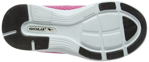 Gola - Equinox, Scarpe da corsa Bambina Rosa (Pink/Black)