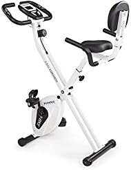 Kinetic Sports Indoor F-Bike Fitnessbike Heimtrainer Ergometer Indoorcycling mit Trainingscomputer, Zusammenklappbar