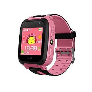 Yozhanhua – Reloj Inteligente para niños, teléfono móvil, Resistente al Agua, rastreador de GPS/LBS para niños, Compatible con iOS/Android