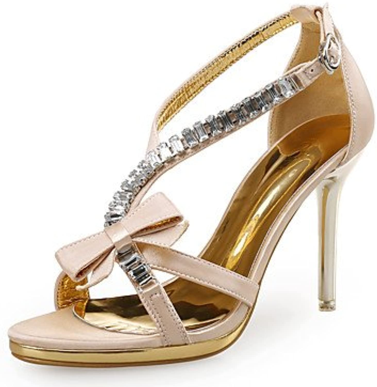 RTRY Sandalias De Mujer Zapatos Club Novedad Tejido Sintético Glitter Wedding Party &Amp; Traje De Noche Stiletto...