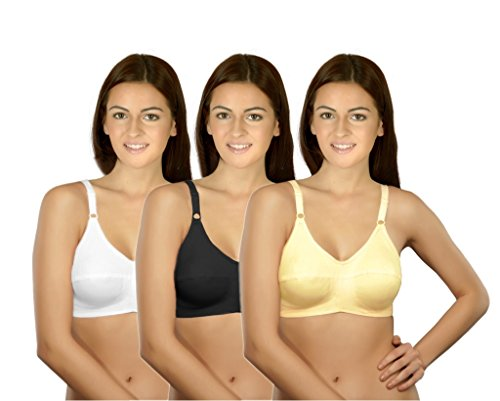 Selfcare Set Of 3 New Growing Women's Full Coverage Bra  available at amazon for Rs.354